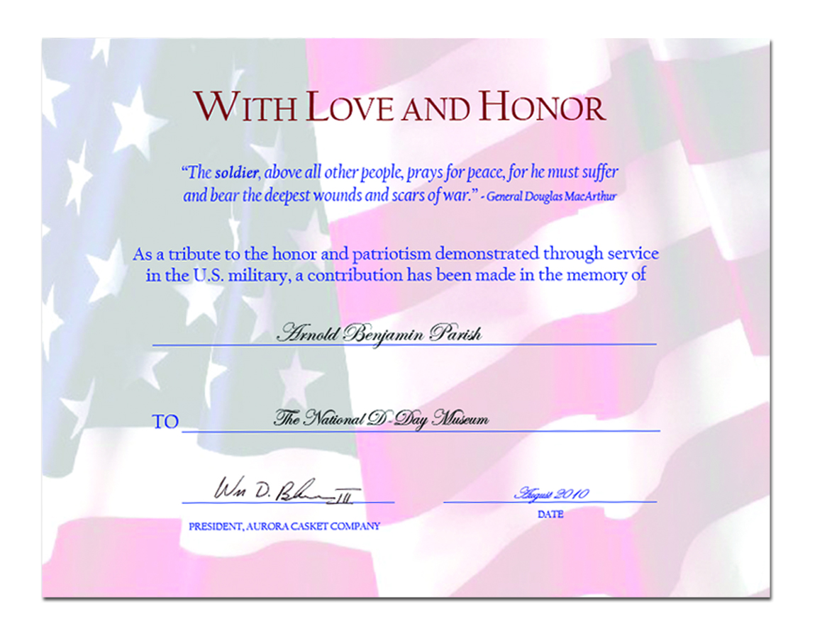 This is a picture of Wild Free Printable Veterans Certificate of Appreciation